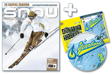 SNOW 32 + EXKLUZIVNÍ LYŽAŘSKÉ DVD YEARBOOK