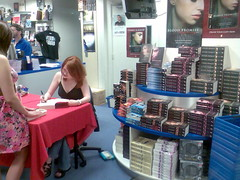 Richelle Mead book signing at Galaxy