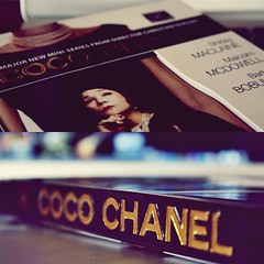 COCO CHANEL (L photography) Tags: woman black fashion century movie one icons dress little story most coco behind chanel 20th part1 glamorous the influential macbook