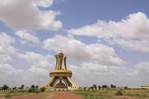 Ouaga 2000 monument...