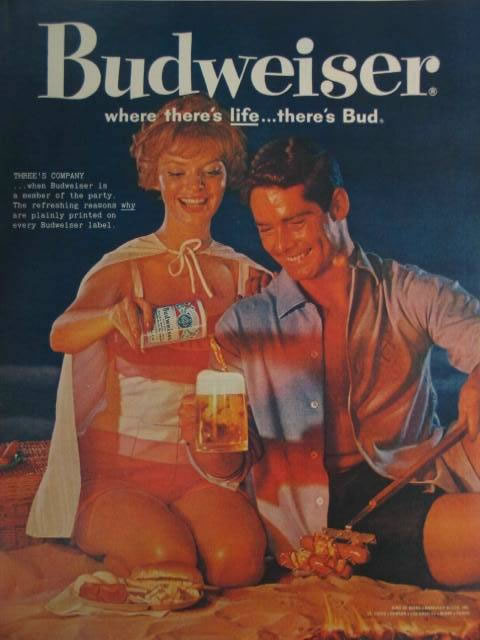Image selected for Cool Beer Ads #4 - Budweiser