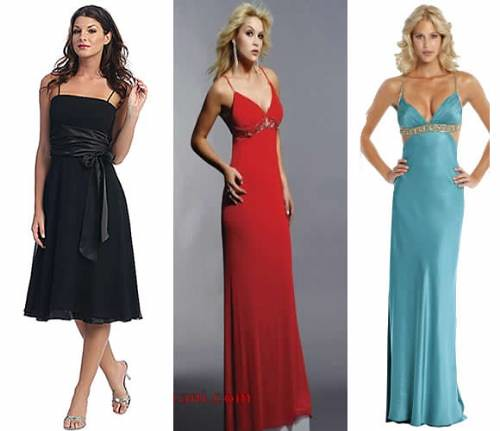 vestidos elegantes para festas