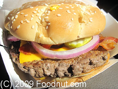McDonald's Angus Third Pounder Bacon Cheese (foodnut.com) Tags: food restaurant mcdonalds foodporn burgers sanmateo foodie restaurantreview restaurantguide hamburgerrestaurant foodnutcom thirdpoundangusbaconcheeseburger