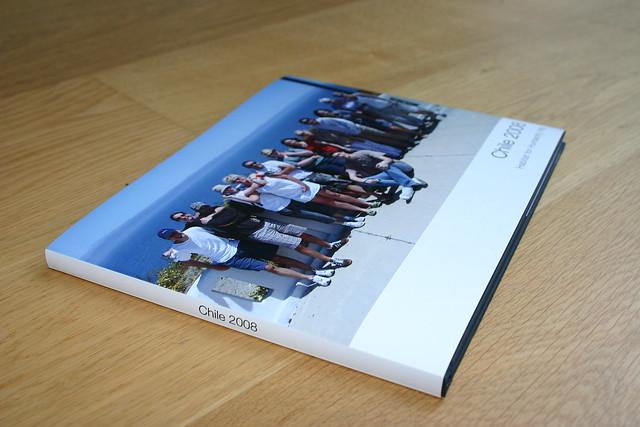 Apple Hardcover Book - Chile 2008 by JamesRoseUK