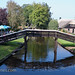 La entrada de las casas en Giethoorn