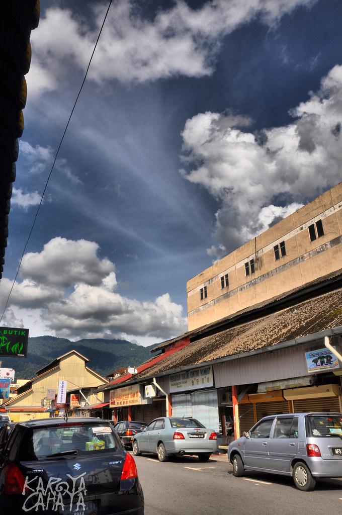 Taiping: behind the bazaar