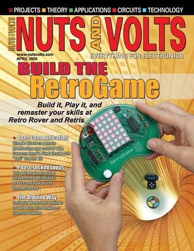 Nuts and Volts Magazine - April 2009 - Build The RetroGame