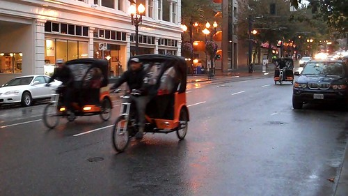 PDX Pedicab - Commute to Work with Zappos