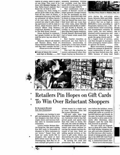 Retailers Pin Hopes