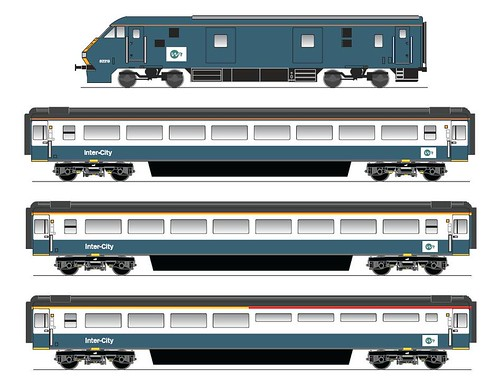 Branded Train project (UK - Mk3 & DVT)