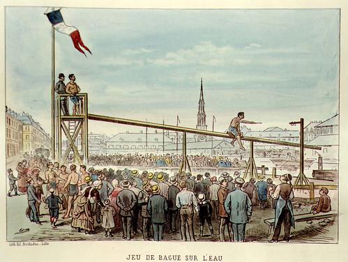 015- Juego de la anilla sobre el agua-Lille ancien monumental Edouard Boldoduc  1893