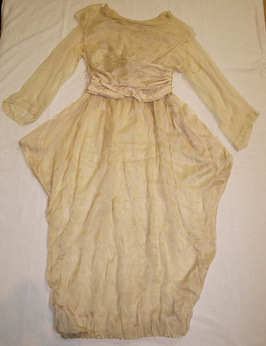 Agnes Welfare's wedding dress