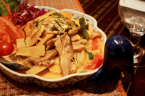 Red Curry with Duck