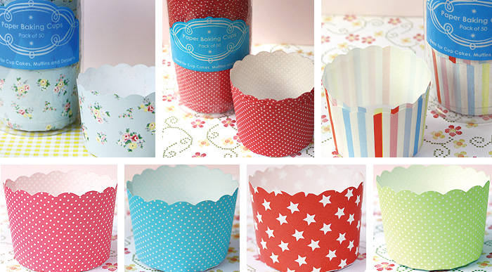Paper Bking Cups from bakeitpretty.com