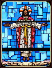 Jesus the Light of the World (Loci Lenar) Tags: new art church interestingness interesting colorful image rss god faith jesus stainedglass images blogs christian explore catholicchurch bloglines feed christianity scripture stainedglasswindow feeds jesusc