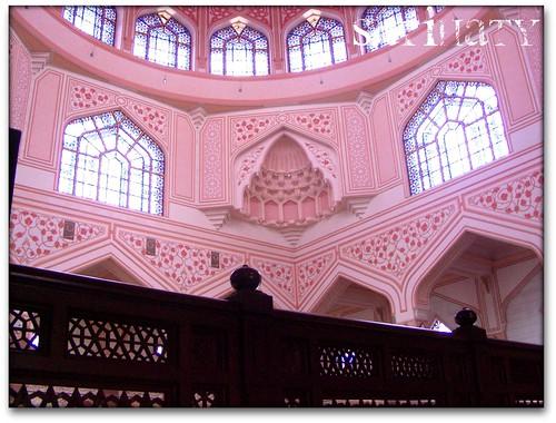 Masjid Putra Putrajaya pagi hari kedua Kursus Haji Perdana