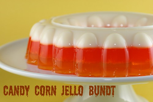 Candy Corn Jello Bundt - I Like Big Bundts