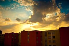 Magnificent (Krynowek Eine) Tags: house color home casa arquitectura raw day cloudy departamento ciudaddemexico aragón