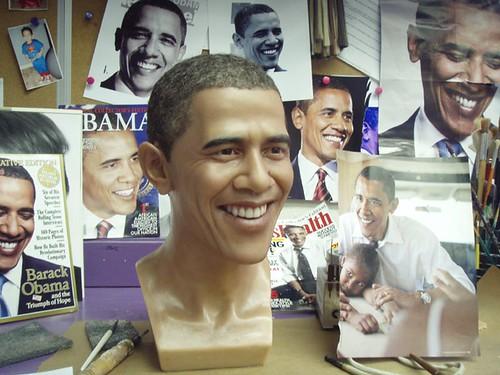 wax obama