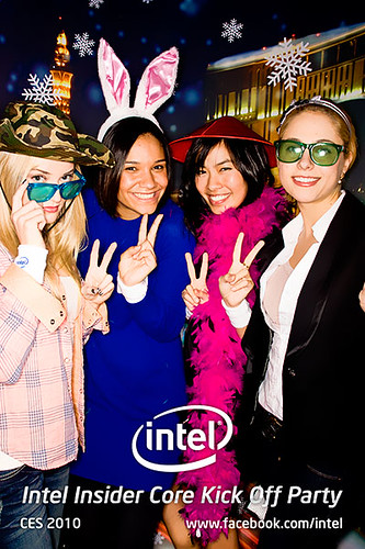 Intel Insider Core Kick Off Party @ CES 2010