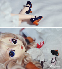 Shoes *DDW19/52* (Au Aizawa) Tags: japanese outfit shoes pullip rement fashiondoll bnp stica uncanricky dollydiptychweekly