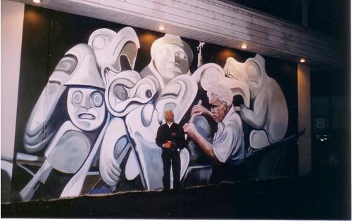 Beachomber -  Mural - Realism