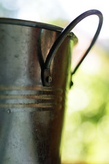 The Bucket 295/365 (gravity_grave) Tags: metal bucket dof bokeh 365 project365 365project dailyshoot 295365 ds560