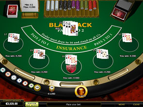 Blackjack 5 Hands