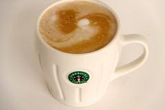 Starting the morning off right (sometimes suzie) Tags: brown 3 coffee yum starbucks mug coloryourworld lovemycoffee startingthemorningoffright