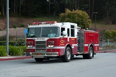 Napa Fire Parade (rocketdogphoto) Tags: california usa pierce fireengine colma sanmateocounty nfd napafiredepartment sanfranciscofiredepartmentfuneral lieutenantvincentperezandfirefighteremtanthonyvalerio