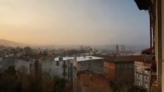 Sunrise in Trieste (ScotchBroom) Tags: sunrise alba trieste haze fvg friuliveneziagiulia morninglight morning mattina city