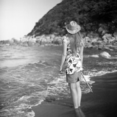 Roots (ted.kozak) Tags: sardegna portrait 6x6 beach sardinia squareformat eastside 120mm kiev88 ilfordpanf 50iso 80mm ieva tadas selfdeveloped kozak volna3 savedbydmu tedkozak taip2 taip5 taip7 taip10 taip3 taip1 taip4 taip6 taip8 taip9 kazakevicius