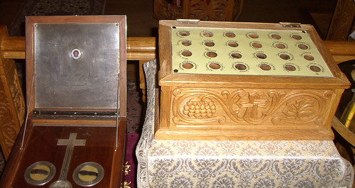 reliques Elisabeth et barbara
