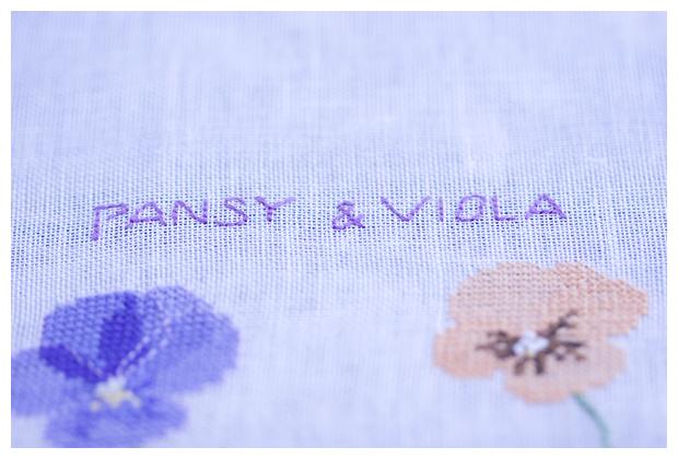 Pansy and Viola (Kazuko Aoki)