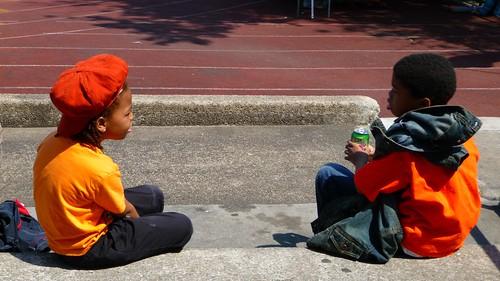 Orange children