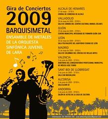 Gira BARQUISIMETAL 2009