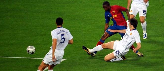 Gol de Eto'o Barcelona Manchester