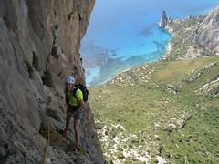 Mediterraneo (7a+ max), Punta Giradili - Arrampicare in Sardegna