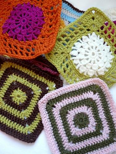 more crochet squares