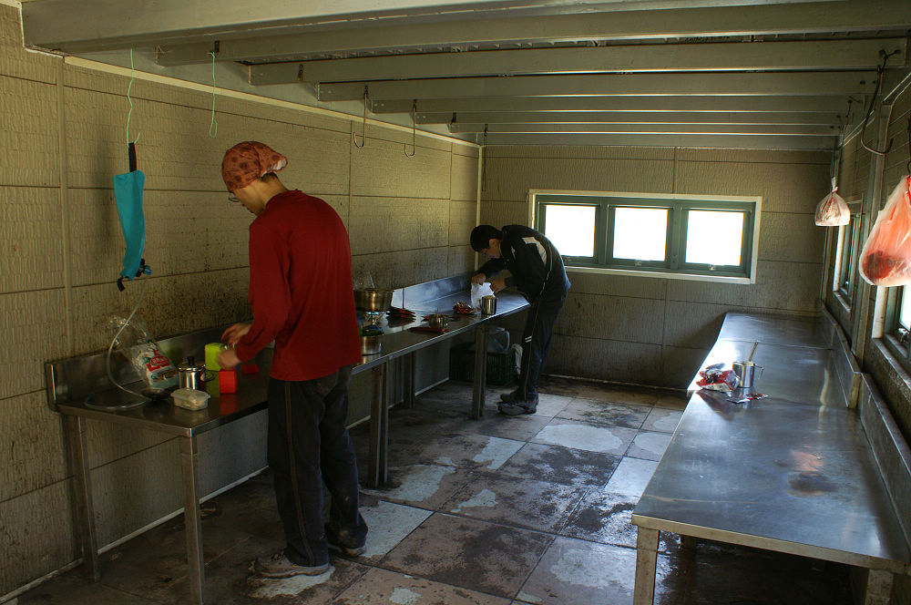 南湖大山day2-53煮泡麵