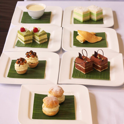 Desserts tasting