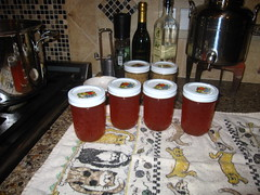 Rosemary Rhubarb jam