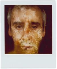 Leo (Cea tecea) Tags: portrait polaroid sx70 manipulation sandwich 600 leogeo