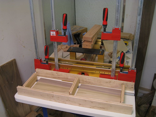 ready for my first cabinet door glue-up