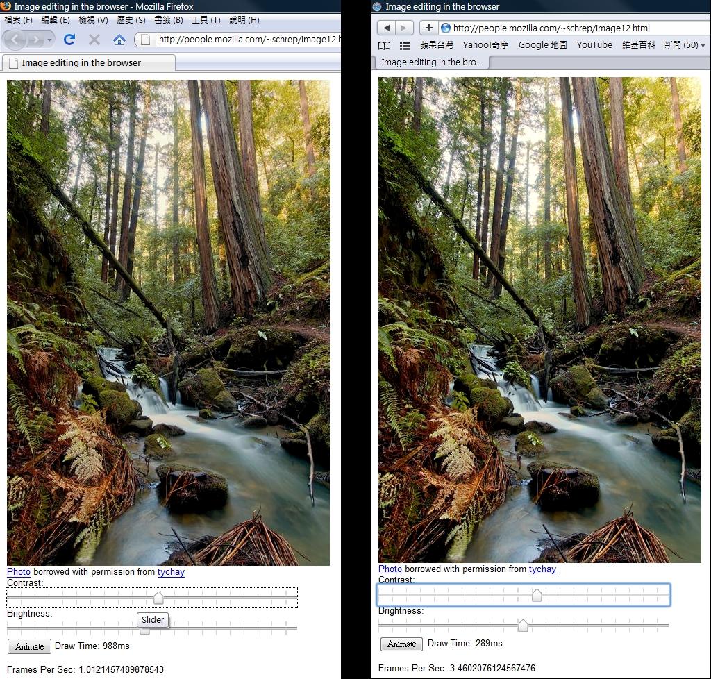 Safari 4 vs Firefox 3