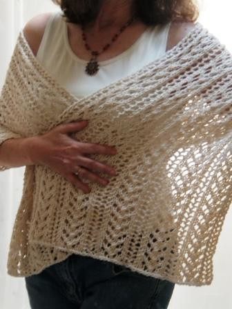 Ravelry Summer Love Wrap Pattern By Katherine Fagan