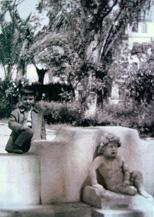 Niño fuente del Campo de la Merced