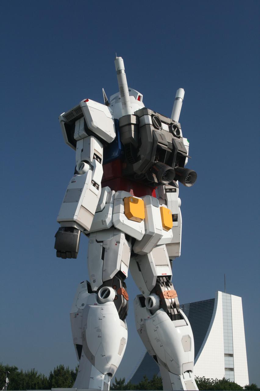 Monumento Gundam tamaño real Tokio