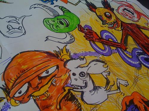 wacky characters