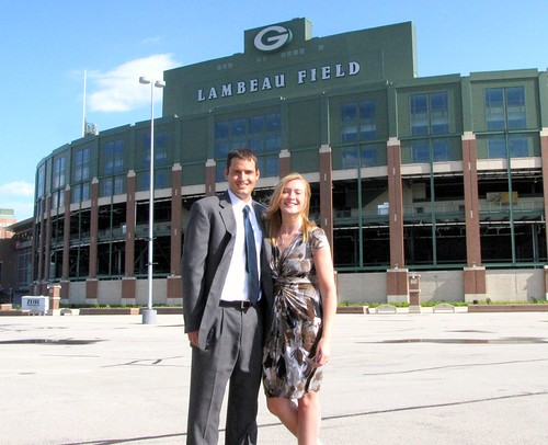Wedding - Lambeau Field